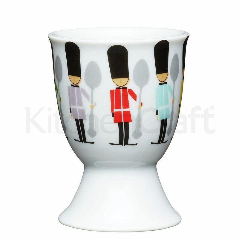 Kitchen Craft - Porcelain Childrens Egg Cup - Soldiers