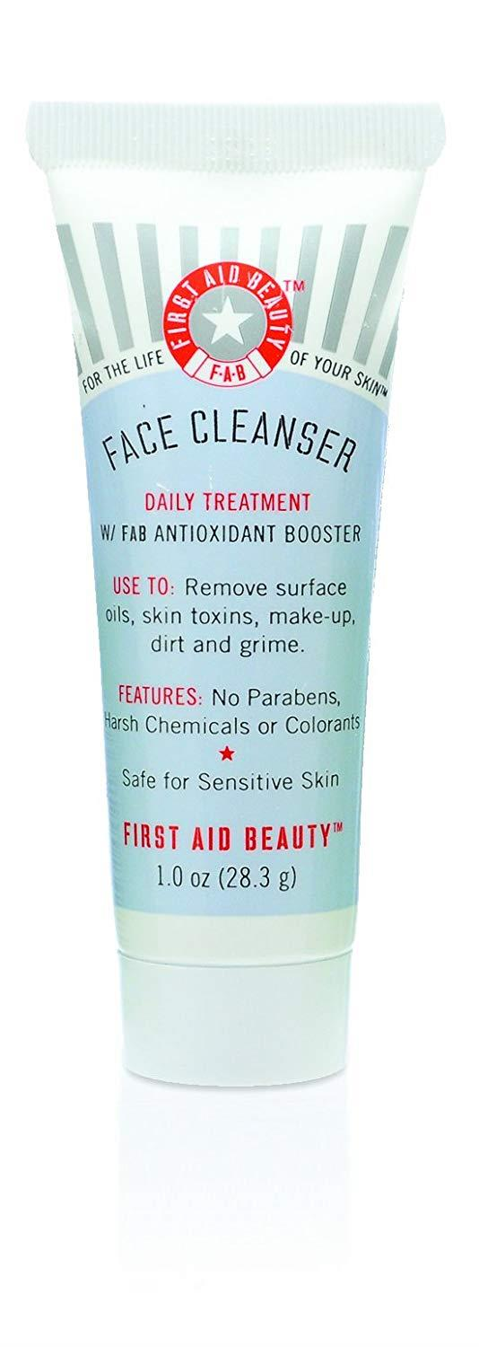 Roll over image to zoom in First Aid Beauty Face Cleanser Mini Travel Size 1 Ounce