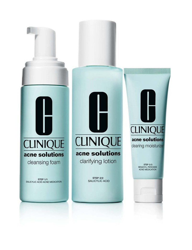 Clinique Anti-Blemish solutions 3 step system