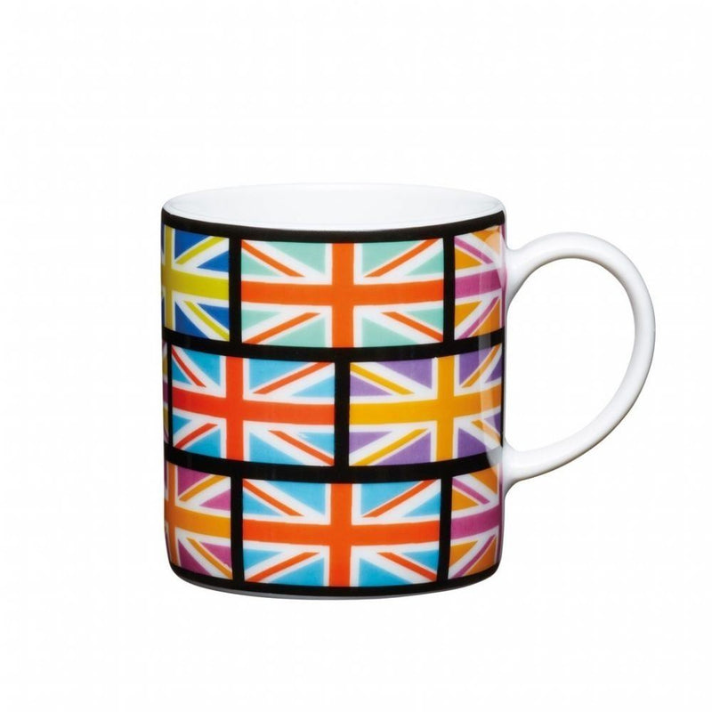 Kitchen Craft - Porcelain Espresso Mug - Union Flag - 80ml
