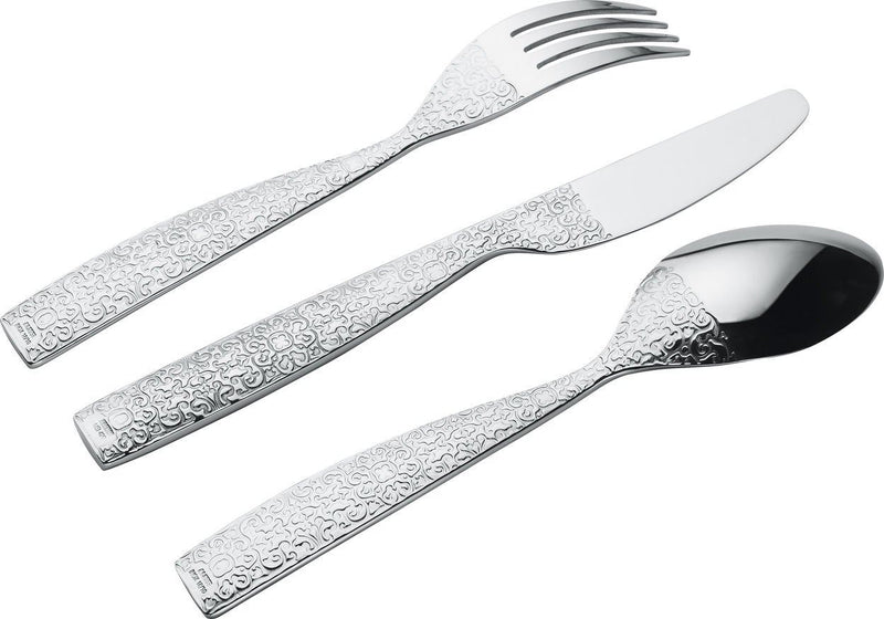 Alessi MW03S5 Dressed 5 Piece Place Setting by Marcel Wanders, Stainless Steel