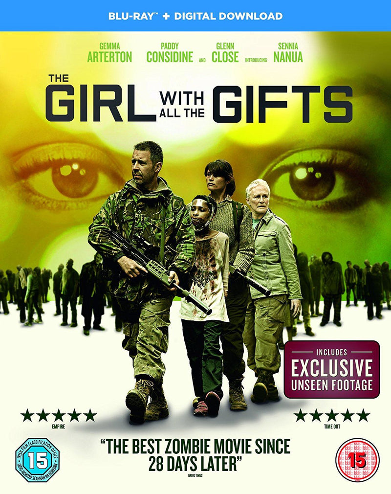 The Girl With All The Gifts [Includes Digital Download] [Blu-ray] [2016]