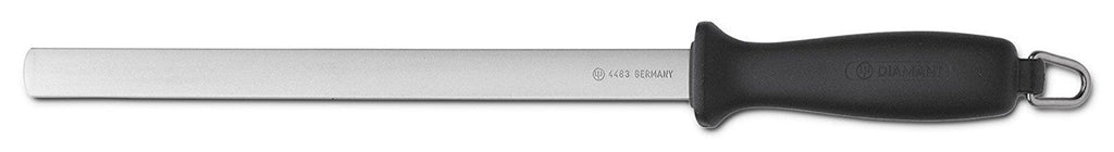 Wusthof 4483 10-Inch Diamond Sharpening Steel, Wide