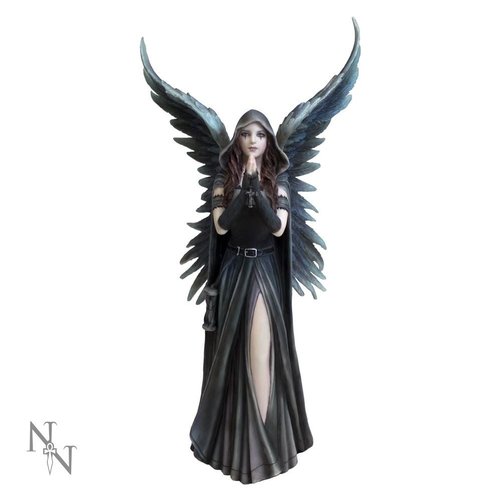 Anne Stokes `Harbinger` Angel of Death Statue
