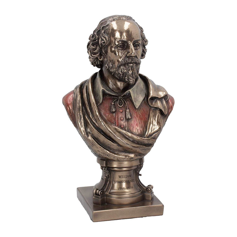 Nemesis Now Bronze William Shakespeare Bust