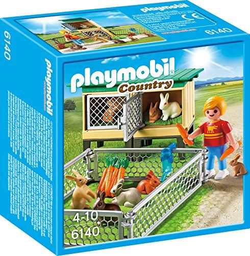 PLAYMOBIL 6140 Country Rabbit Pen with Hutch