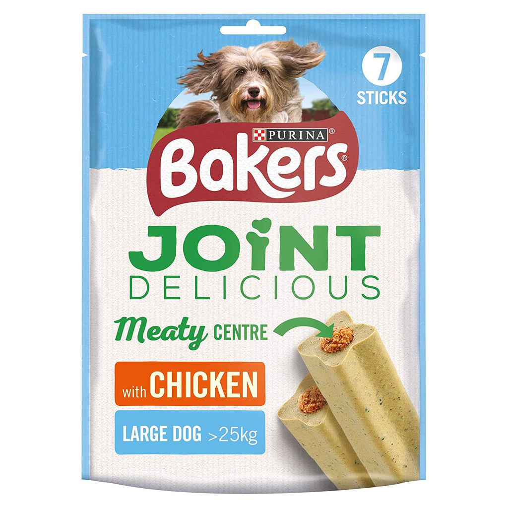Bakers Joint Delicious Large Dog Treats Chicken 240g