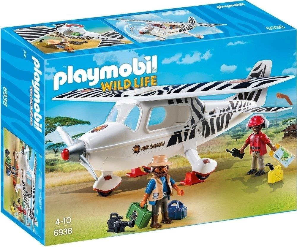 Playmobil 6938 Wildlife Safari Plane