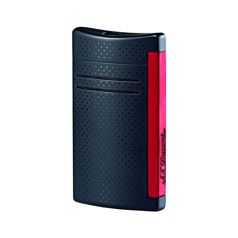 S.T. Dupont MaxiJet Lighter - Matte Black & Red