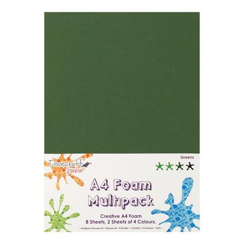 DOVECRAFT A4 FOAM MULTIPACK (GREEN)