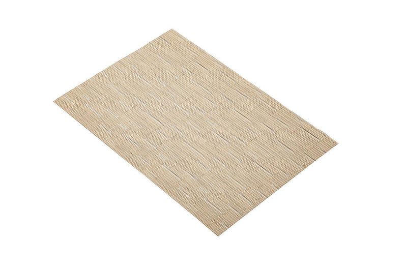 Kitchen Craft Woven Vinyl Placemat, 30 x 45 cm (12' x 17.5') - Beige Mix