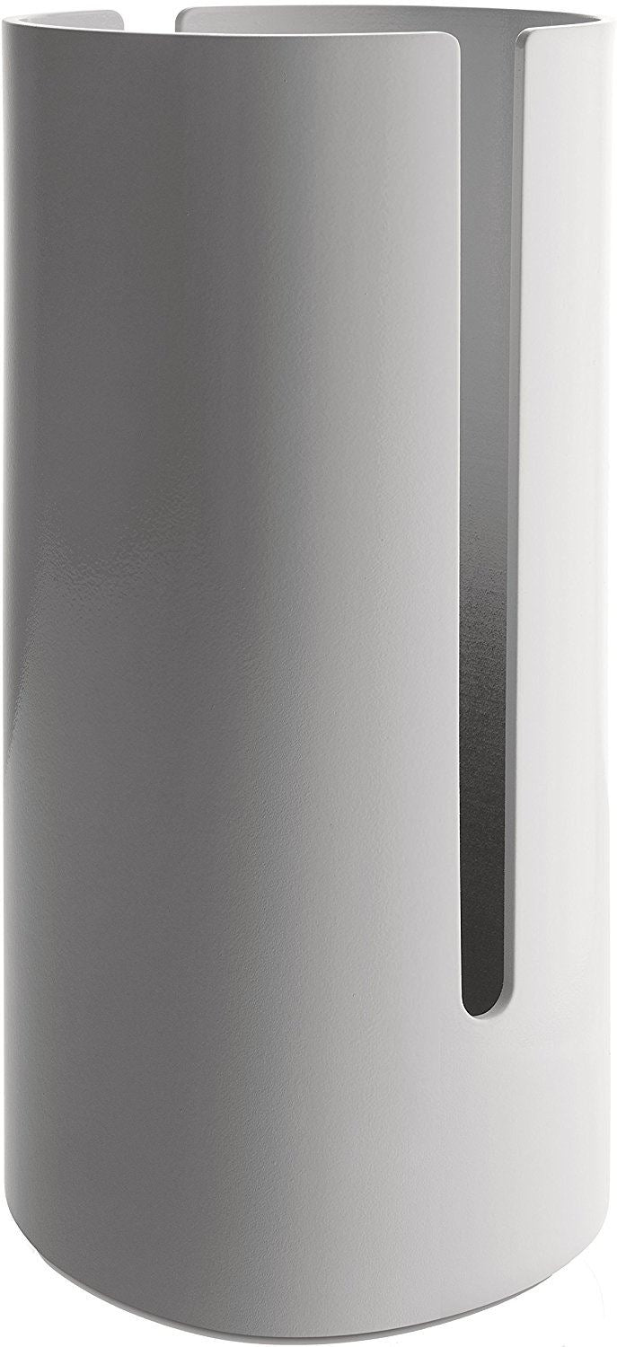 "Alessi ""Birillo"" Toilet Paper Roll Container, White"