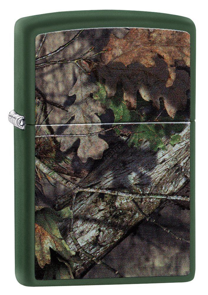 Zippo Mossy Oak Breakup Country Regular Lighter - Green Matte