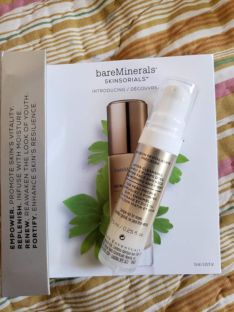 Bare Minerals Skinsorials SkinLongevity Vital Power Infusion Travel Size 0.25 oz