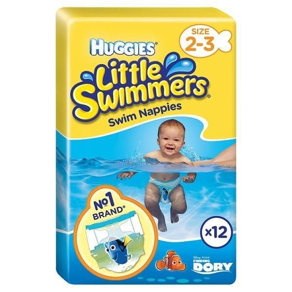 Huggies Little Swimmers Swim Nappies Size 2-3 3-8kgPack of 12