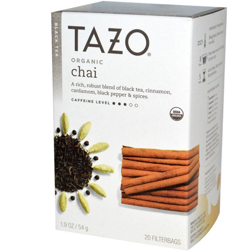 Tazo Teas Organic Chai Spiced Black Tea 20 bags 54 g