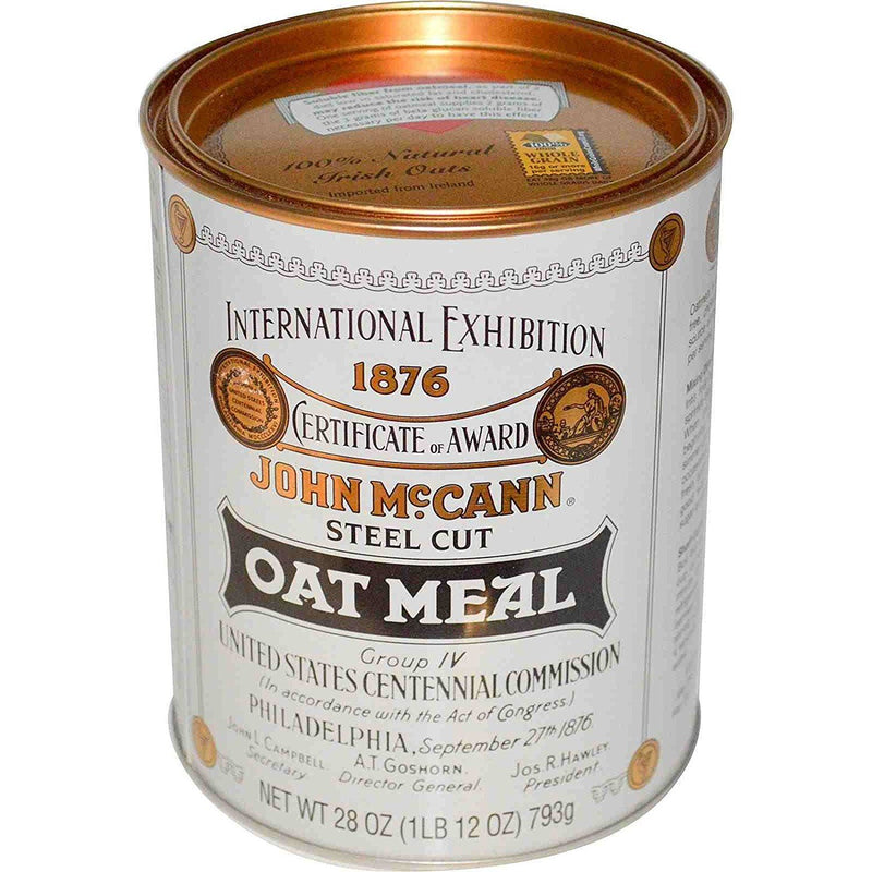 McCann's Irish Oatmeal Steel Cut Oat Meal 793 g