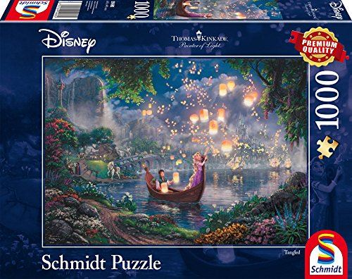 Schmidt Spiele 59480 Disney-Tangled Jigsaw Puzzle Multi-Colour