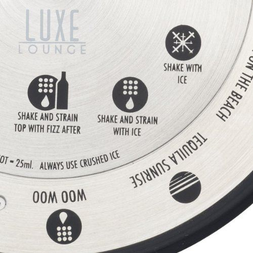 Kitchen Craft Luxe Lounge Stainless Steel Cocktail Compass