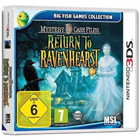Avanquest Software Nintendo 3DS Mystery Case Files  Return to Ravenhearst