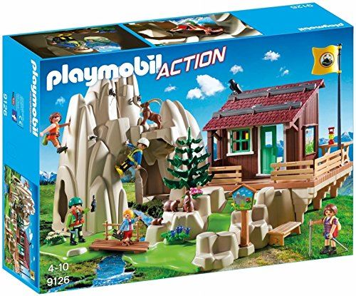 PLAYMOBIL 9126 Rock Climbers with Cabin