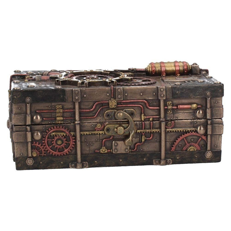 Nemesis Now The Enigma Vault  Box  23.5cm Bronze