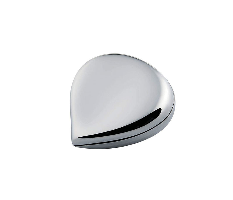 Alessi Chestnut Pill Box Stainless_Steel One size