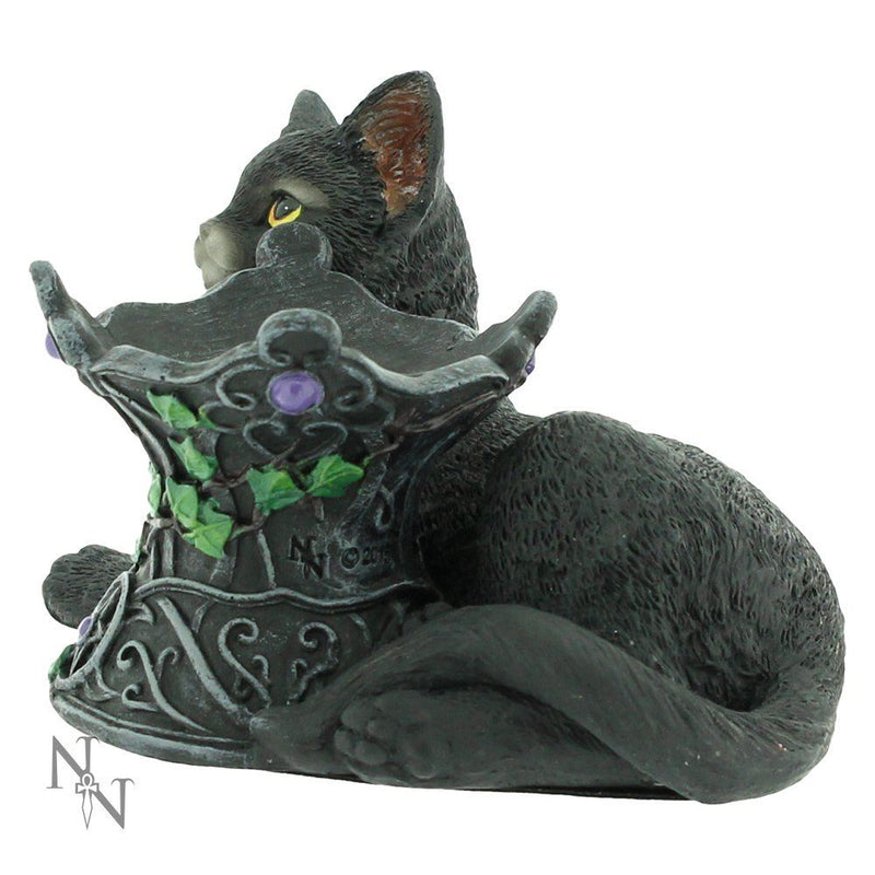 Nemesis Now Cosmo Cat Crystal Ball Holder Wiccan Witch Gothic Ornament