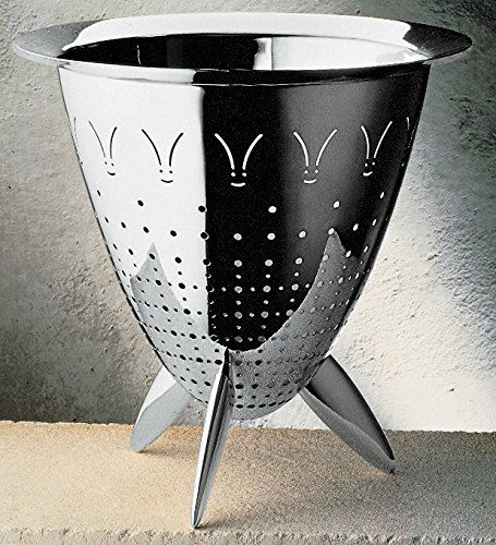 Alessi Officina MAX LE Chinois Colander Stainless Steel