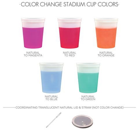 color change cup colors