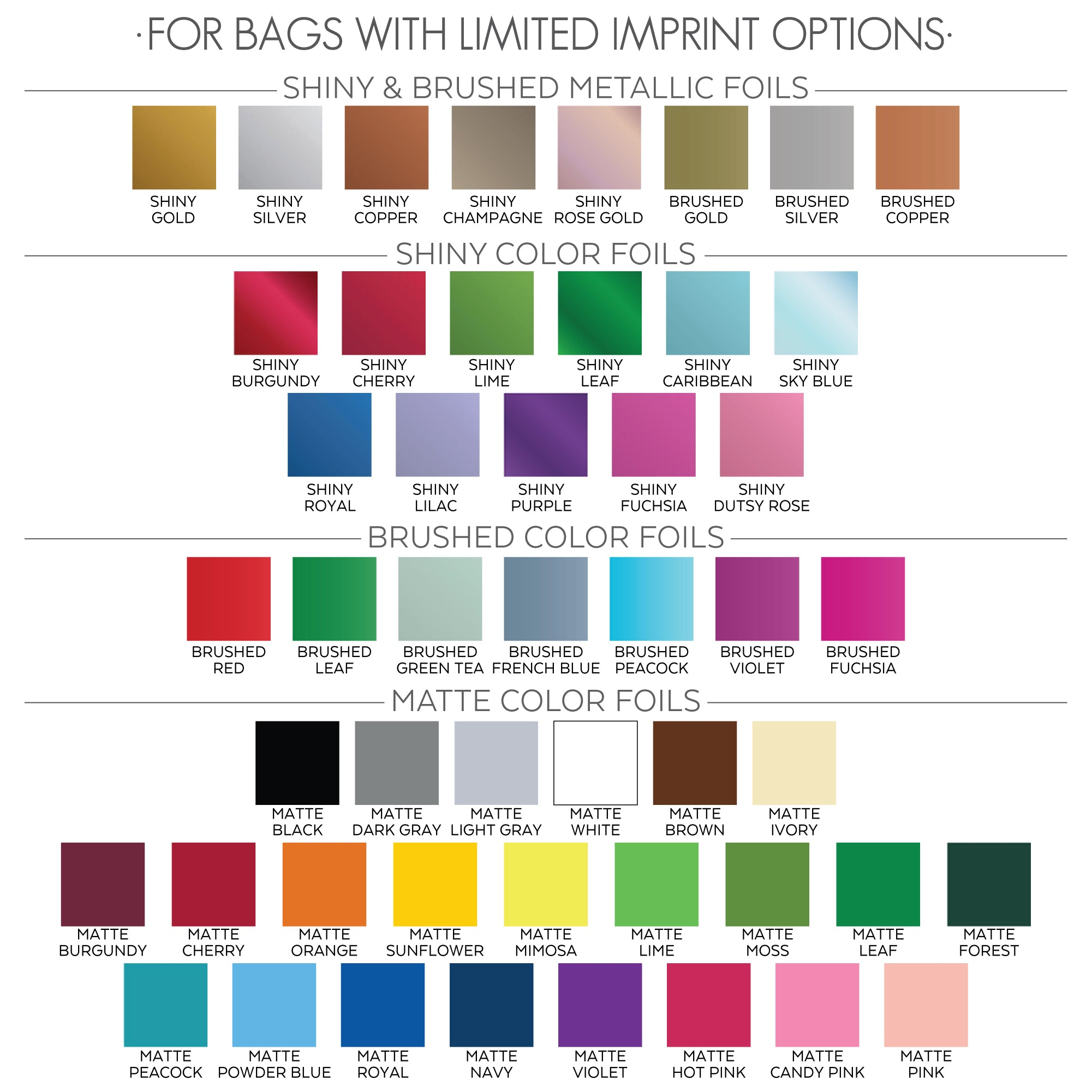 LIMITED XX FOIL OPTIONS EUROTOTE
