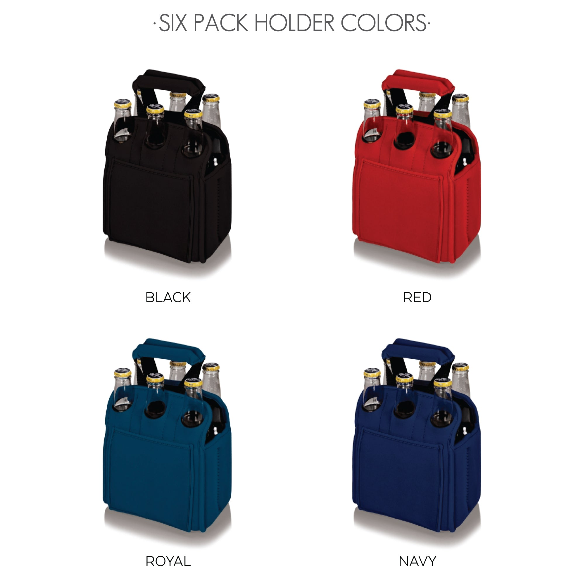 SIX PACK HOLDER COLORS
