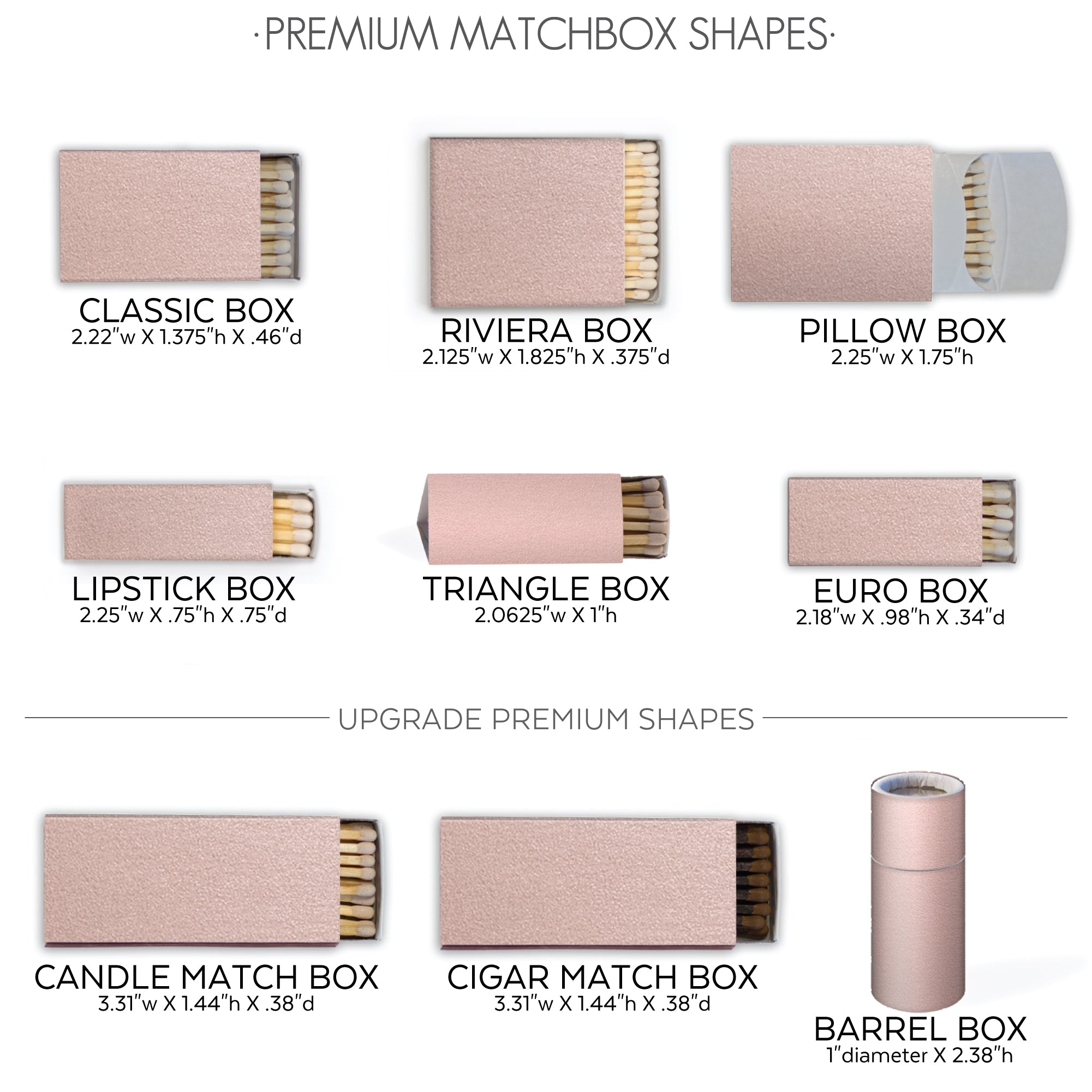 premium match shapes