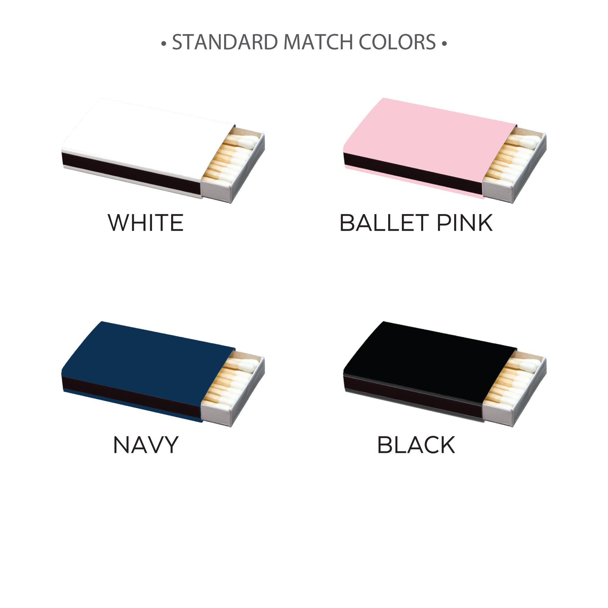 STANDARD MATCH COLORS