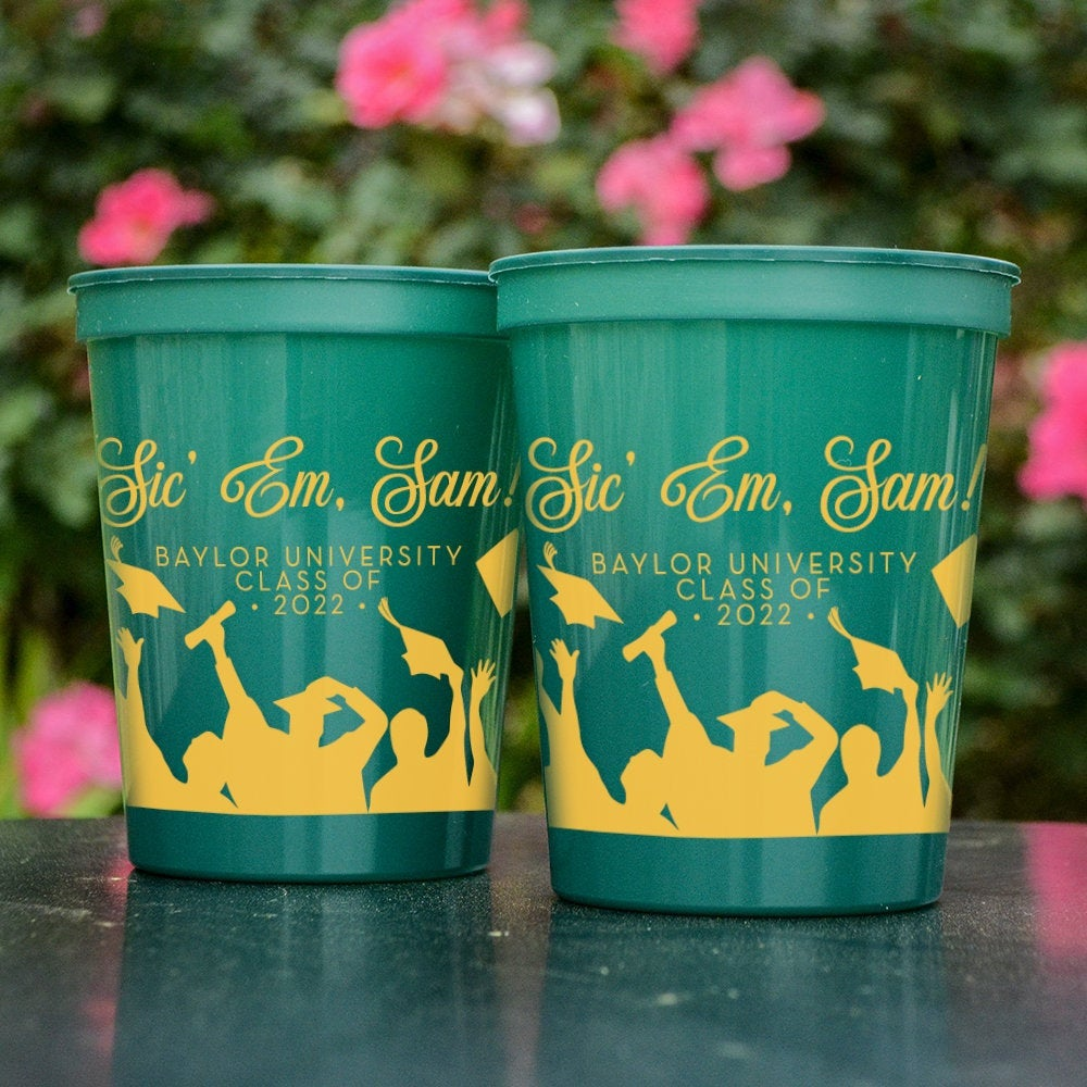 graduation stadium cups