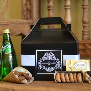 Custom Hotel Wedding Welcome Boxes