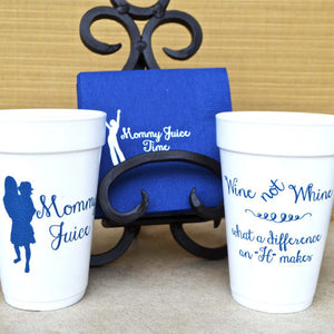 Mommy Juice Wine Not Whine Cups - Set of 10
