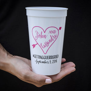 Personalized Engagement Party Cups