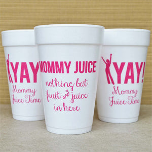 Mommy Juice Mom's Night Out Cups - Set of 10