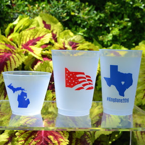 Personalized Texas Shatterproof Cups