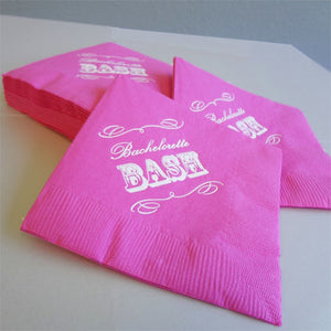 25 Bachelorette Party Cocktail Napkins