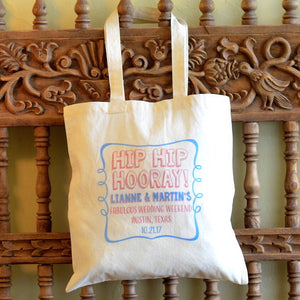 Wedding Celebration Canvas Tote - $10.50+