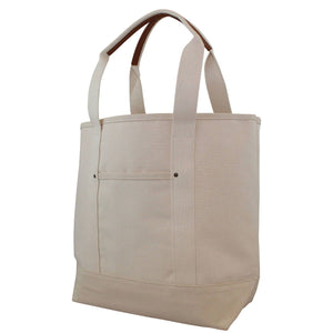 Essential Canvas & Leather Tote