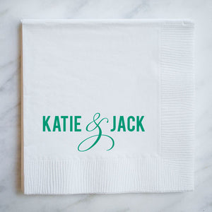 Personalized Cocktail Napkins - Set of 100