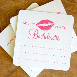 Advice for the Bachelorette Coasters - set of 10