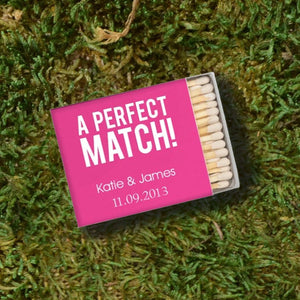 "Personalized ""A Perfect Match"" Matches"