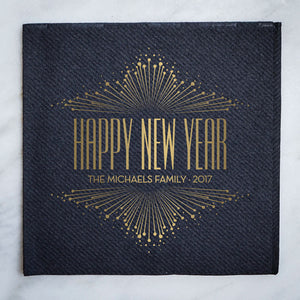 Happy New Year Holiday Napkins - 100