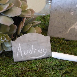 Arch Chalkboard Wedding Place Card