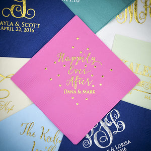 Personalized Napkins - Set of 100