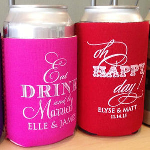 Custom Best Day Ever Can Coolers
